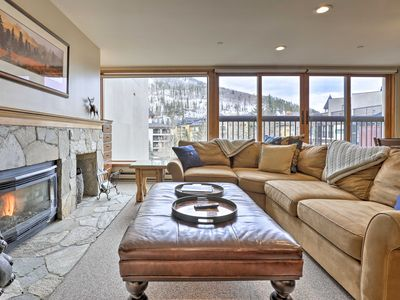 Photo for Spacious Vail Condo: Steps From Eagle Bahn Gondola