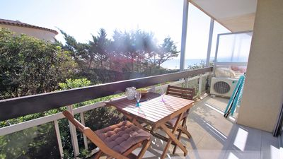 Photo for Studio for 2 people - Sea view - Air conditioning - WiFi - Town center - Near the beach - Sainte-Maxime