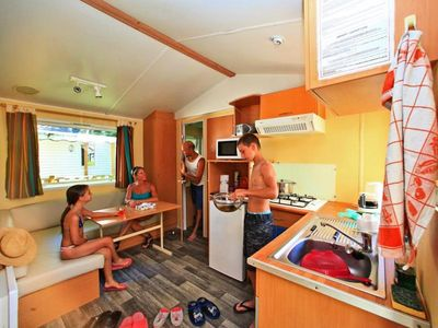 Photo for Camping Le Plein Air des Bories *** - Mobil home Super Venus 3 rooms 4 persons