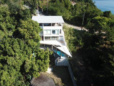 Photo for House on land with sea, Whale and Turtle Beaches. kayaks and sailboat option