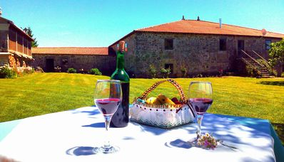 Photo for Casa do Portomeñe. Your getaway vacation in the Ribeira Sacra. Ideal for groups.