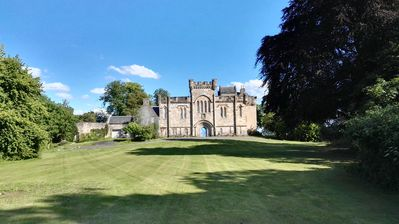 Photo for Craufurdland Castle - Countryside  tranquility only 20 mins from Glasgow City Ce