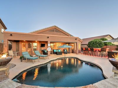 Photo for Goodyear Home w/ Outdoor Oasis and Mountain Views!