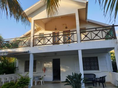 Photo for 100 meters from the lagoon of Saline baths beautiful villa in garden