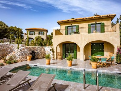 Photo for Mama La Roosa is a charming two-bedroom villa on the northern tip of the Ionian island of Kefalonia.
