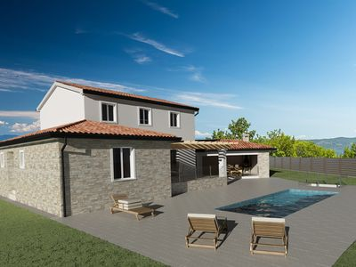 Photo for Luxury Villa with pool in Central Istria in pacefull village