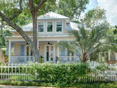 Photo for Immaculate Custom Beach Cottage - Short Walk to St. Simons Village, Restaurants, Shopping and Beach!