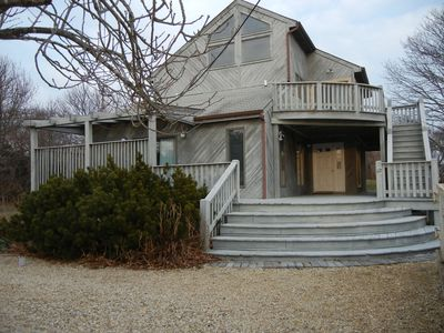 Photo for Ocean View/4 Min Walk to Beach in Stylish Home in Exclusive Hither Hills
