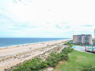 Photo for D702: 1BR Sea Colony oceanfront condo! Private beach, pools and tennis ...