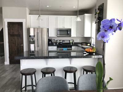 Photo for Modern 3BD/3.5BA town home with quick access to SLC
