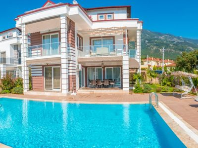 Photo for Fethiye 4 Bedroom Villa With Private Pool Four Seasons. Daily or weekly rental villas suitable for large families and groups.