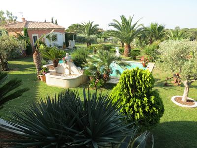 Photo for Private apartment in villa with pool