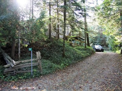 Photo for Private Retreat only Steps away from Sauble River.
