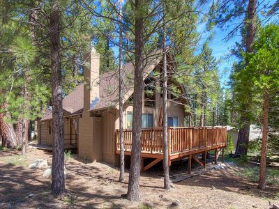 Photo for Classic Pine Cabin w/Rock Fireplace (CYH0881)