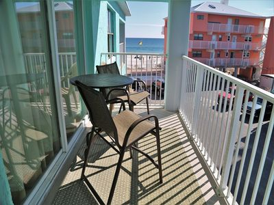 Harbor House B20 ~ Private Balcony w Gulf View, Free Wifi, Renovated, Prime Location, Beach