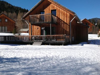 Photo for Beautiful wooden chalet with private sauna near Kreischberg