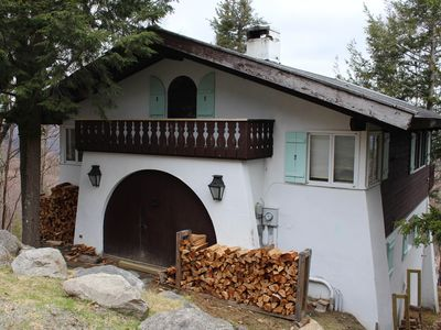 Photo for Dog-friendly home with stunning views & balcony, near Cannon Mountain!