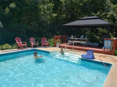 Photo for Large East Charlotte Home with Pool, Hot Tub, Arcade, Steam Sauna & Pool Table