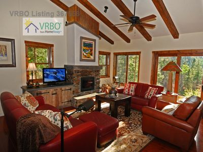 Photo for Laid-Back Luxury Chalet, great location near Pioneer beginner lift