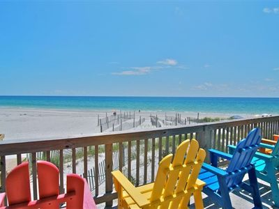 Photo for Gulf Front Beauty w/Million Dollar Views! Right on the Ocean! Steps to water!