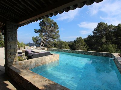 Photo for At the artist JEAN MARAIS Cannes / Vallauris VILLA 5 bedrooms with SWIMMING POOL
