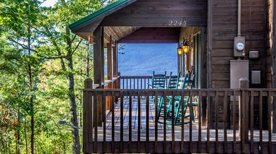 Photo for Beautiful - Secluded Cabin with Mountain Views - $140 - $160 Per Night