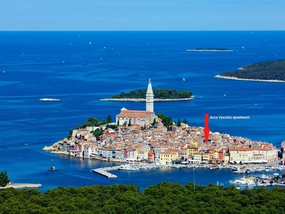Photo for Rovinj Central Apartment ArcoVecchio- by  historical seaside and the main square