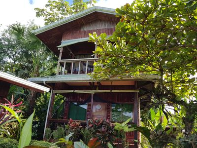 Photo for Excellent bungalow jungle surrounded in property with garden and ocean views