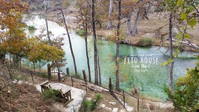 Photo for RIVERFRONT! - The Frio House - Riverfront property on the Frio River