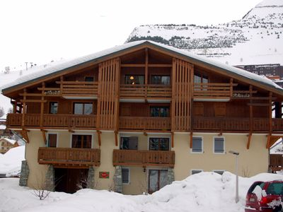 Photo for T2 Cabin for 4 people well located overlooking a white valley slope