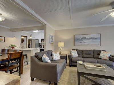Photo for Across from Beach!  First Floor Condo, Super close to the Village .