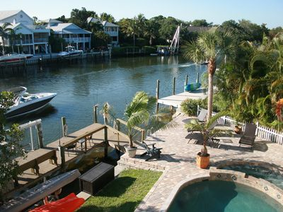 Photo for Large Private Home On Water With Pool/Spa On #1Beach In Us! - Siesta Key