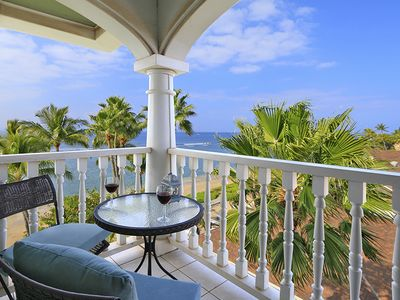Photo for Oceanfront Top Flr Corner Unit with Sweeping Views and Tradewinds from two Lan