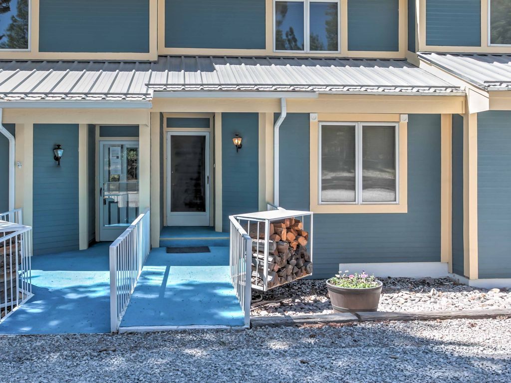 New 3br Cloudcroft Townhome W Deck And Mtn Views