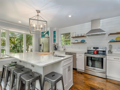 Photo for Steps to Seaside! Beach Chic Home + FREE BIKES+Private Pool!!