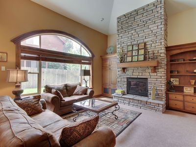 Photo for NEW LISTING! Luxury townhome near lake, golfing and downtown McCall