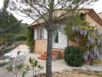 Photo for House (cottage wisteria) between Gorges du Verdon and St. Tropez
