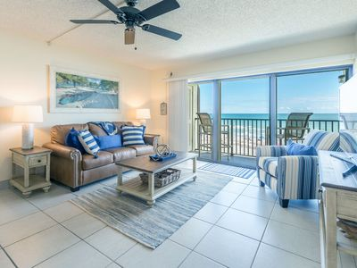 Photo for Amazing Direct Oceanfront View - Next to Pier - Penthouse