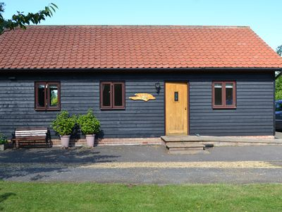 Photo for Beautiful 4 Star Rural Suffolk Cottage Overlooking Lake
