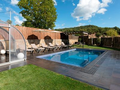 Photo for CASA ROVIRA (Magnificent rural house with jacuzzi in the garden and private pool)