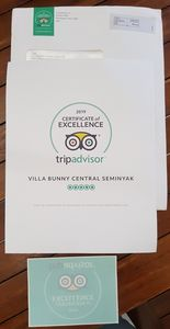 just get Certificate of Excellence TRIPADVISOR 2019 ❤❤