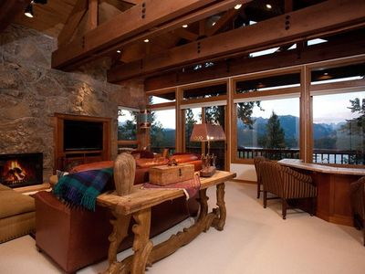 Photo for Spacious Custom Luxury Home with Gorgeous Views Located at Electra Lake, Close to Ski Resort