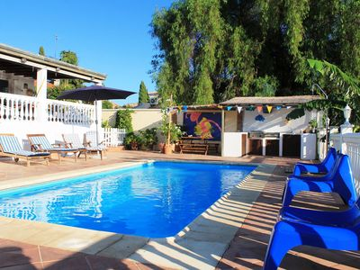Photo for beautiful villa with private pool and garden in a quiet environment