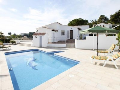 Photo for holiday home, Moraira  in Um Valencia - 4 persons, 2 bedrooms