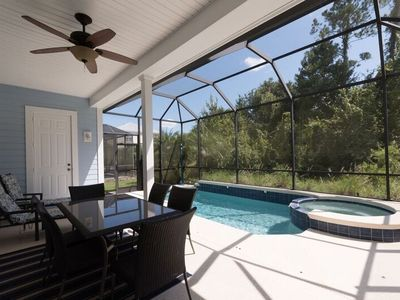 Photo for South Facing Luxury Pool Home with 4 En Suites. 1415
