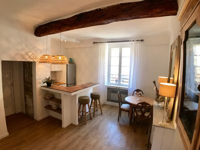 Photo for Charming Appartment  in authentic  fisherman's house  Saint-Tropez downtown.