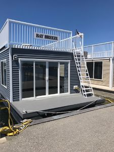 Photo for Newly constructed, Bay Breeze, the Floating Cottage. Reserve your stay today!
