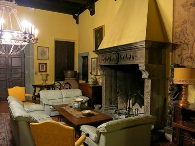 Photo for App. Saladin B & B in an old villa, wifi and parking, meals, services available