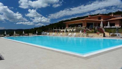 Photo for In residence with swimming pool suitable for families with children.