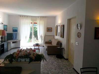 Photo for Exclusive villa apartment in residential area close to the sandy beaches